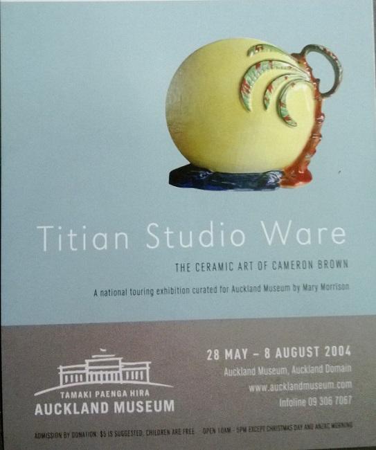 Titian Studio Ware Exhibition leaflet. Titian14