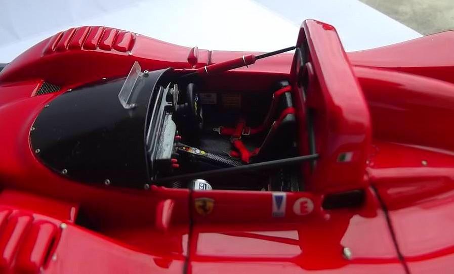 Ferrari 333 sp presentazione BBR 1/24 18298810