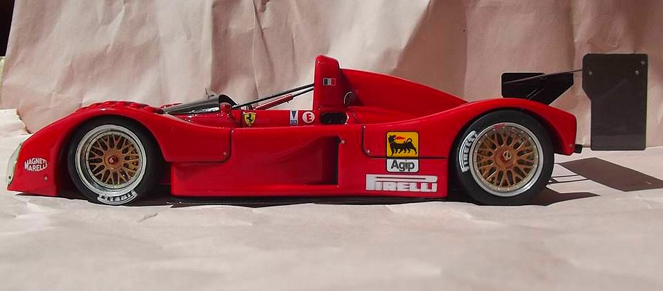 Ferrari 333 sp presentazione BBR 1/24 26170810