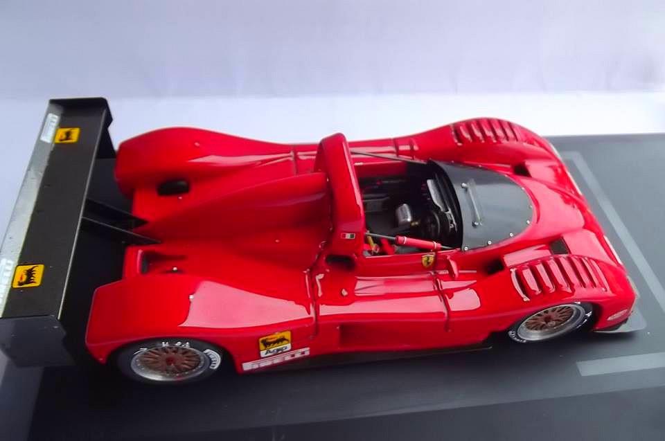 Ferrari 333 sp presentazione BBR 1/24 43178310