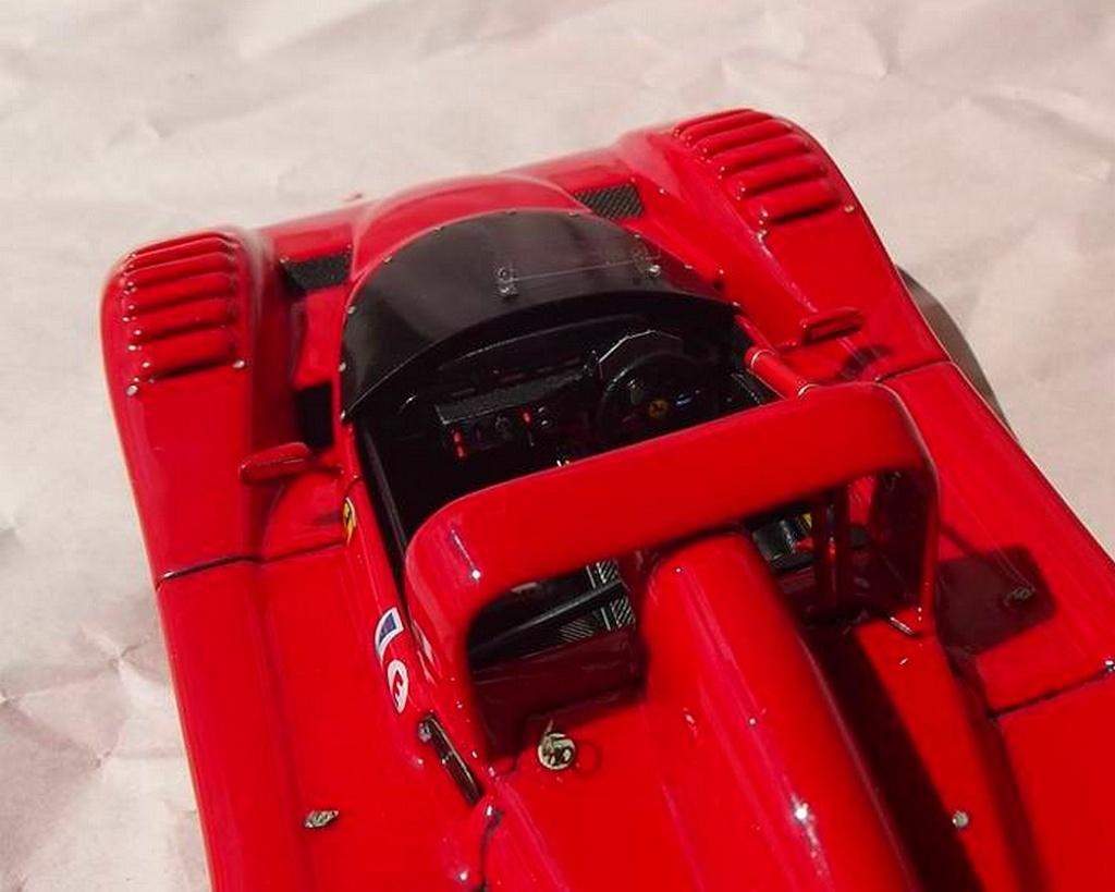 Ferrari 333 sp presentazione BBR 1/24 48101510