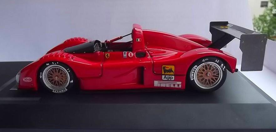 Ferrari 333 sp presentazione BBR 1/24 48249410