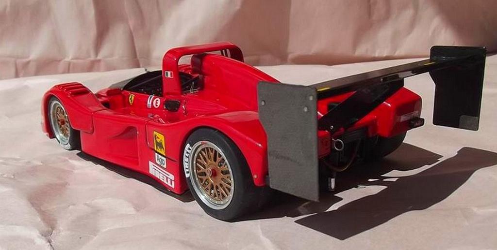 Ferrari 333 sp presentazione BBR 1/24 57582110