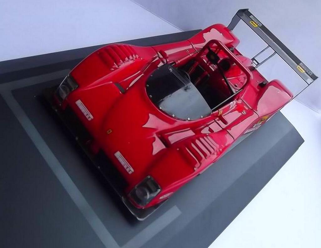 Ferrari 333 sp presentazione BBR 1/24 92299110