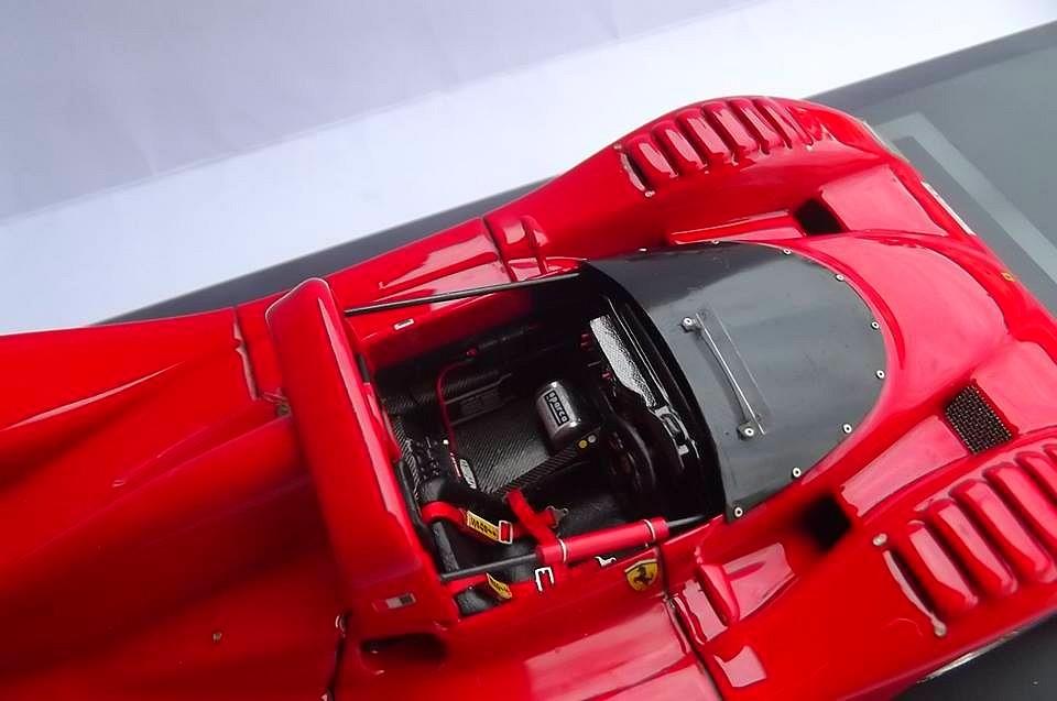 Ferrari 333 sp presentazione BBR 1/24 93127410