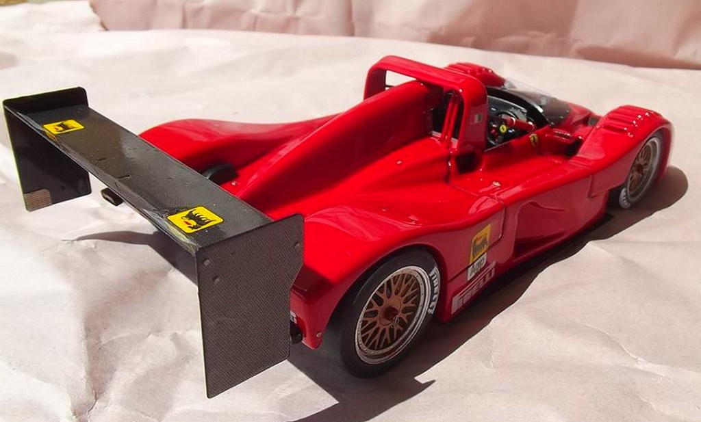 Ferrari 333 sp presentazione BBR 1/24 94194910