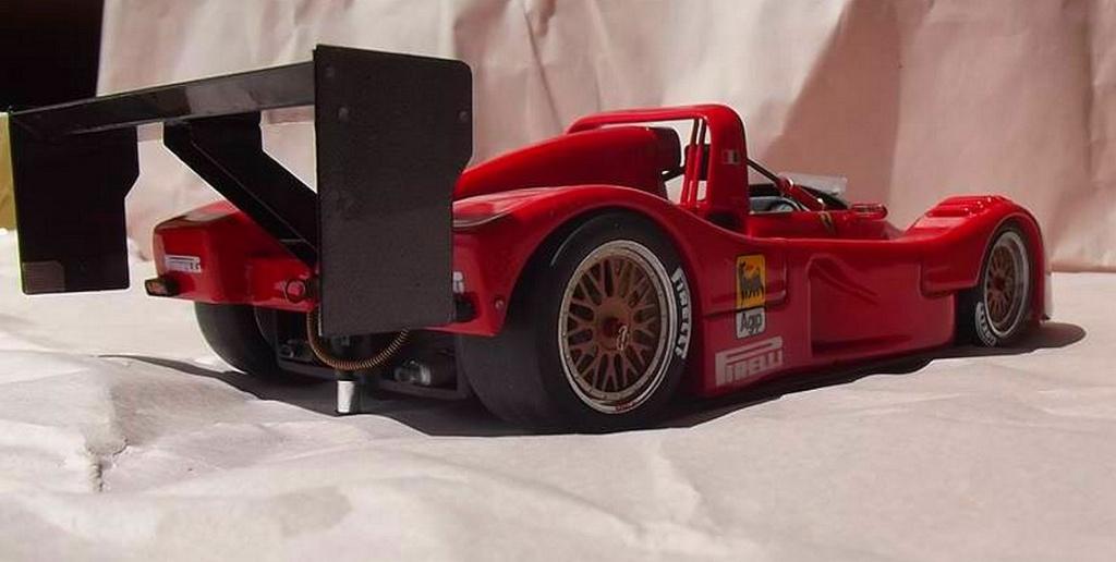 Ferrari 333 sp presentazione BBR 1/24 94656510