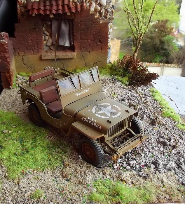 jeep williys 1/24 italeri Dioram10