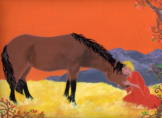 Vos chevaux et vous en dessin Illusf10
