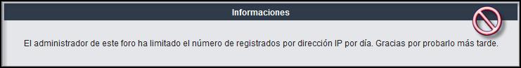 Escoger el numero de creación de cuentas por día y por IP Ip310