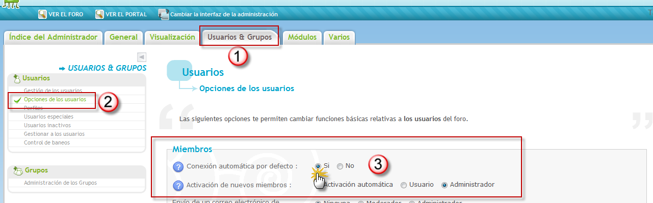 Escoger el numero de creación de cuentas por día y por IP Ip410