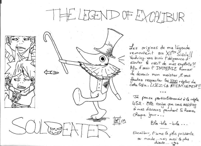 Galerie de Lloydarkraignos + strips du vendredi Excali11
