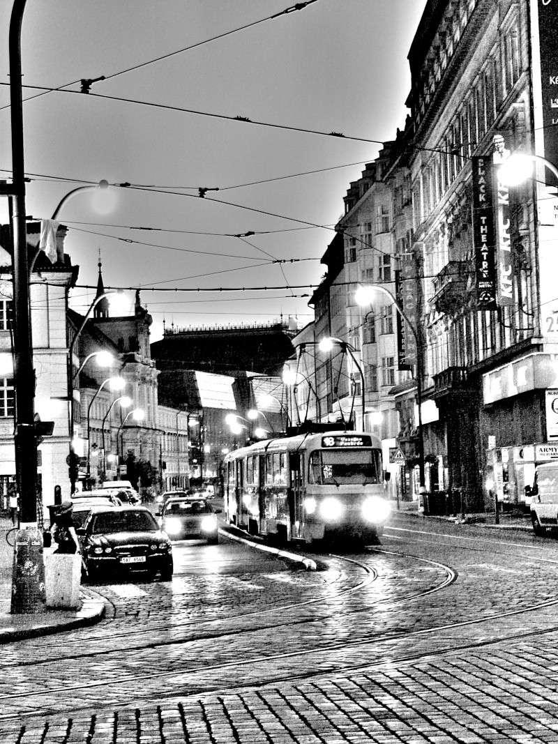 le tramway à Prague Retouc10