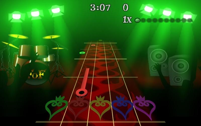 Kingdom Hearts 3D Frets/Notes Fretso10