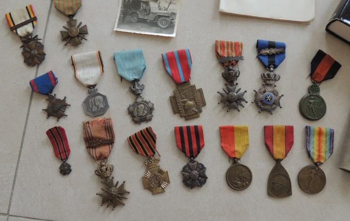 Ma petite collection de Médailles belges WW1 et WW2. Nouvelle arrivée 15/03/2015 Dscn2440