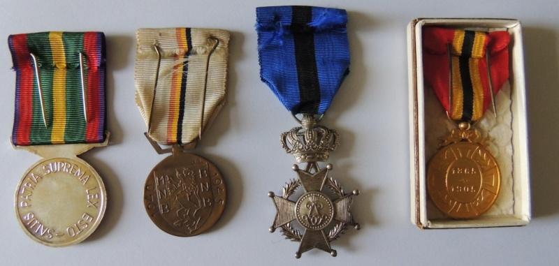 Ma petite collection de Médailles belges WW1 et WW2. Nouvelle arrivée 15/03/2015 Dscn2524