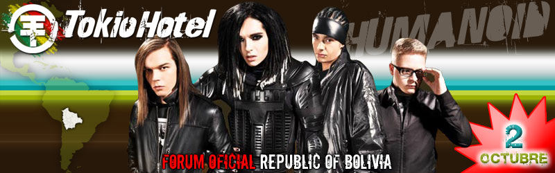 Foro Oficial Fanclub Tokio Hotel Bolivia