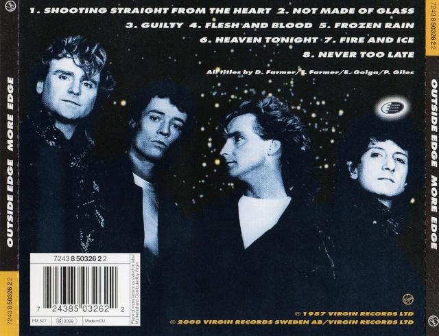 Outside Edge - More edge (1987) Img52210