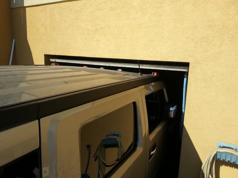 Hauteur hummer h2 - Monter une porte de garage sectionnelle ...