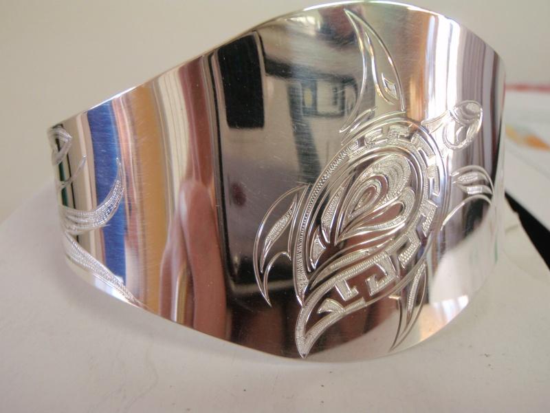 bracelet argent  tortue P1249410