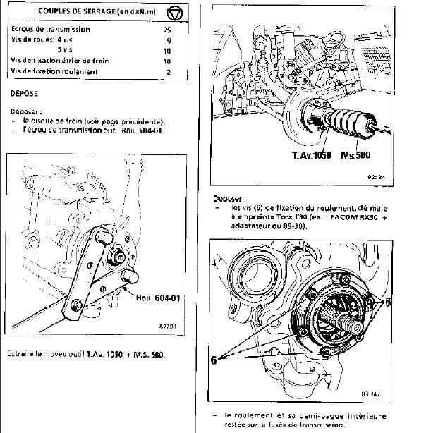 Roulements de roues Roulem10