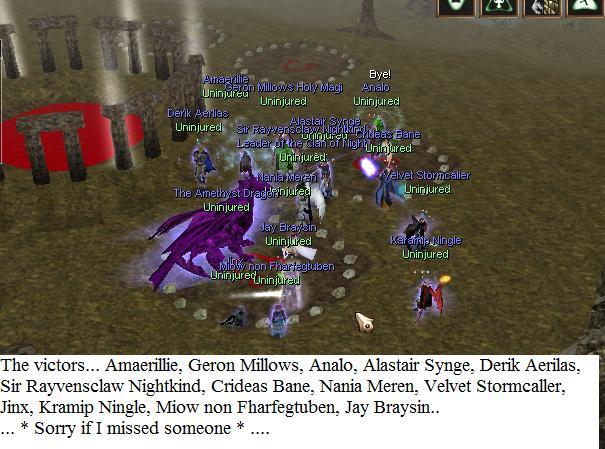 The night Talon tried to rise... Talonu17