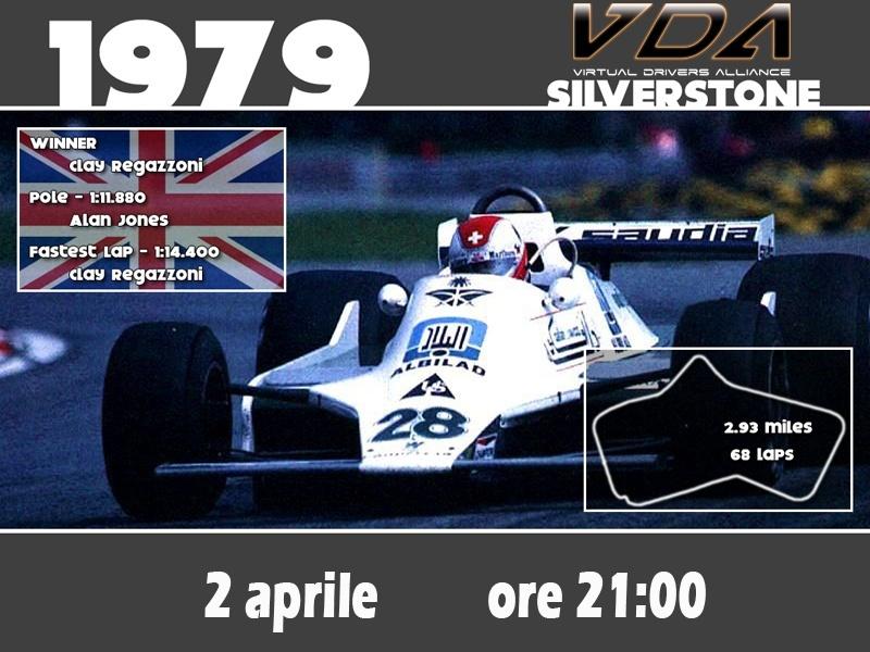 Fun Event GP 79 Silverstone, Giovedì 2 aprile 79210