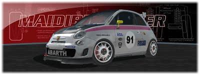 Trofeo Fiat 500 Abarth gratis 9110