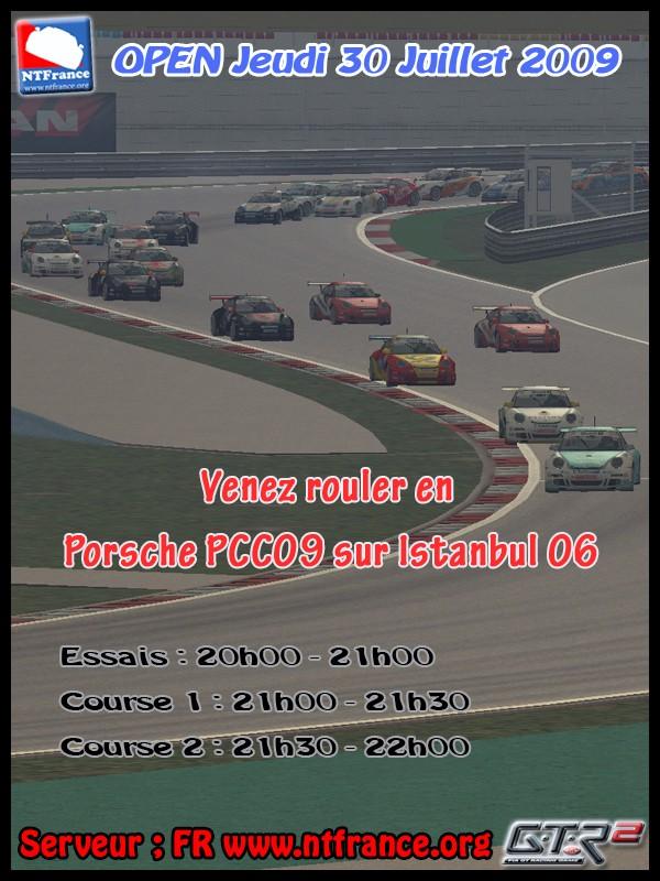 Open Porsche PCC09 GTR2 30 Juillet 2009 Affich10