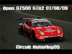 Open GT500 GTR2 du 07/08/09 sur le circuit Nuburing05 Gt50010