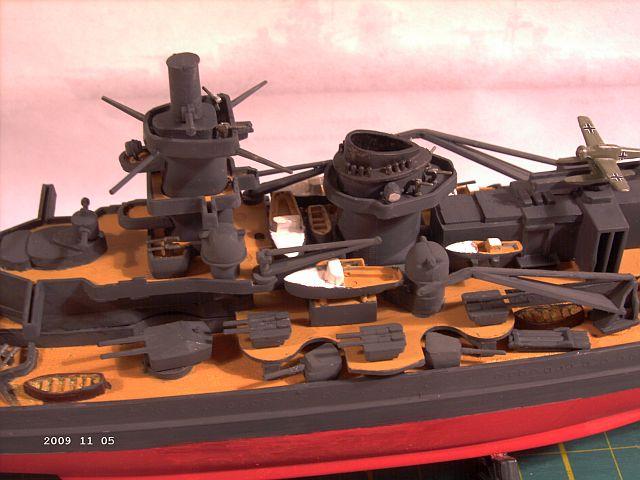 Baubericht Revell 05037 - Scharnhorst 1zu570 - FERTIG - Seite 3 232