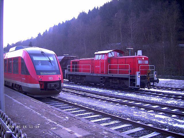 Brügge / Westfalen im Schnee Bragge10