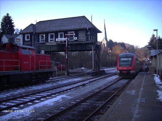 Brügge / Westfalen im Schnee Bragge11