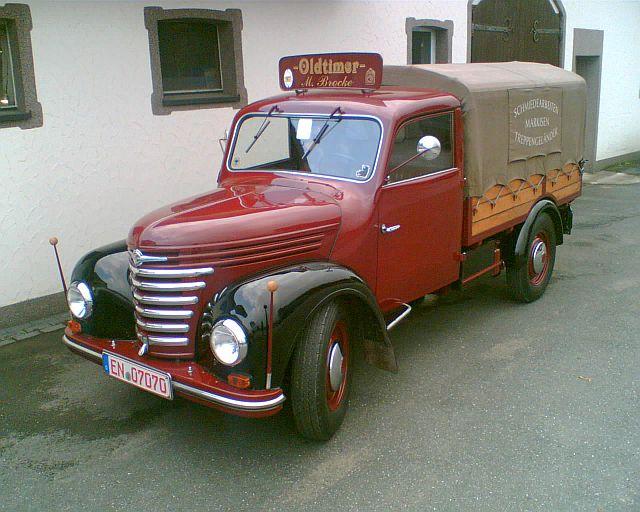 Framo V 901 Pritsche in Sprockhövel Opel_b10