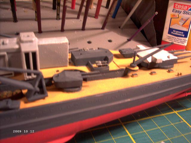 Baubericht Revell 05037 - Scharnhorst 1zu570 - FERTIG - Seite 2 P228