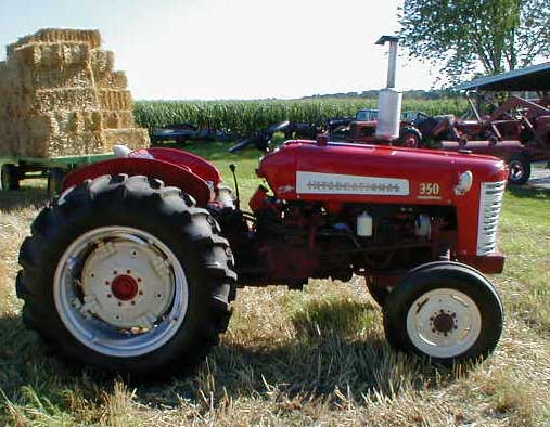 الجرار الزراعى1957 IH 350 Utility Tractor 350u_l10