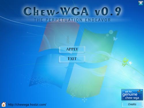 [MU] ACTIVATION WINDOWS 7 Chew-WGA 0.9 Patch Caij7310