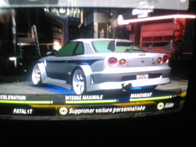 Vos voitures NFSU2 Photo046