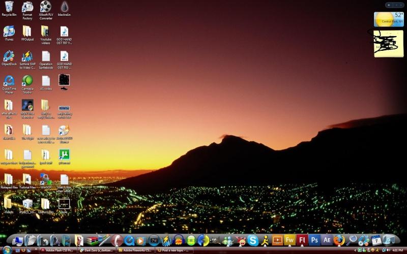 Post a screen shot of your desktop Screen10