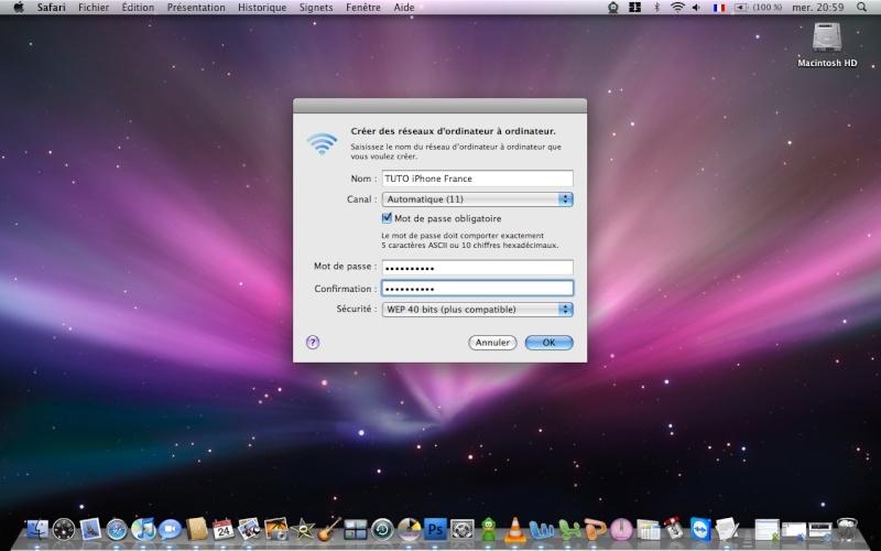 **TUTO** Utiliser son iPhone comme Modem avec PdaNet (MAC) Image_13