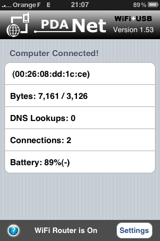 **TUTO** Utiliser son iPhone comme Modem avec PdaNet (MAC) Img_0017