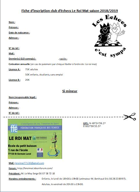 fiche inscription Captur11