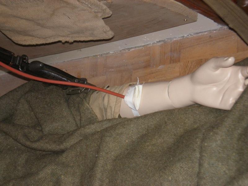 diorama médical de campagne US. P7270022