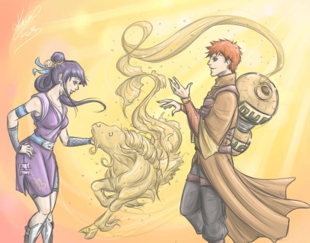 Gaara x Hinata Naruto17