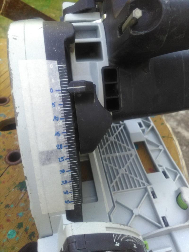 Modifier le curseur de profondeur de coupe sur scie TS 55 EBQ  Img_2207