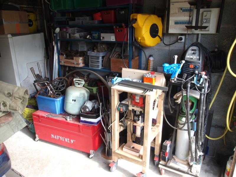 Mon garage faisant office d'atelier P6136411