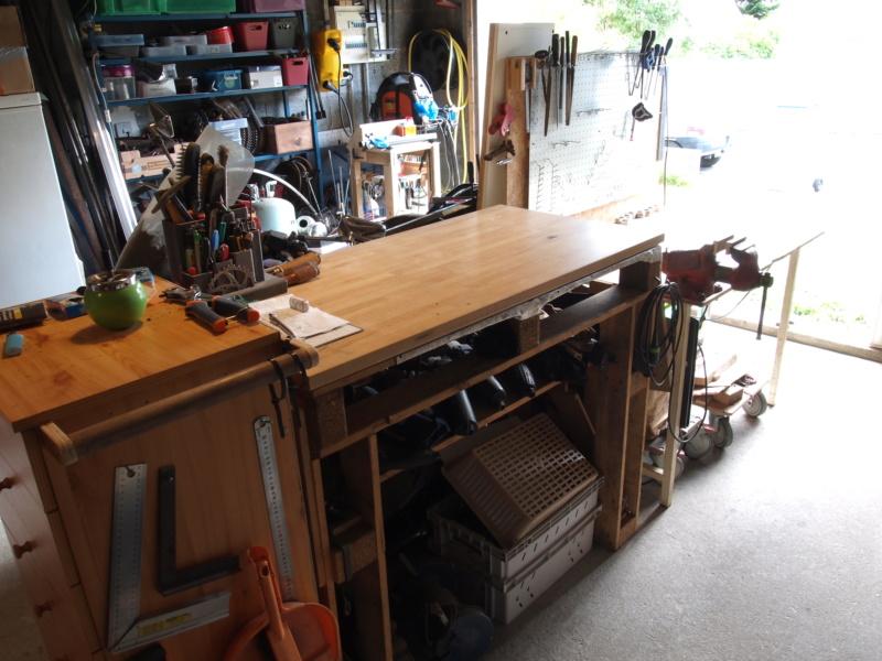 Mon garage faisant office d'atelier P6136413