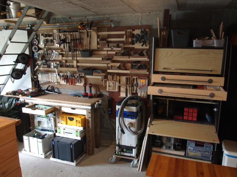 Mon garage faisant office d'atelier P6136416