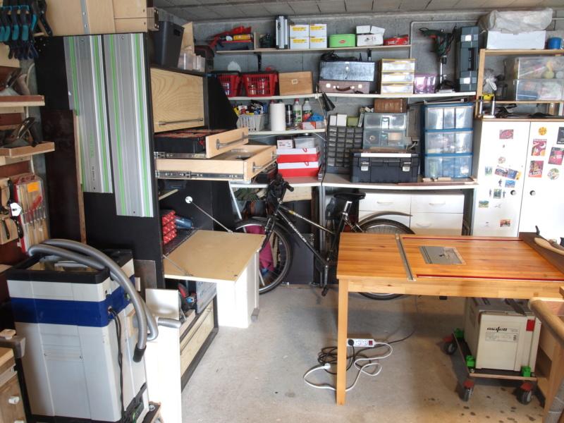 Mon garage faisant office d'atelier P6136417