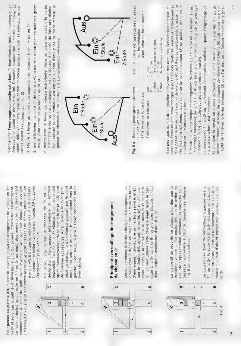 Leviers de commande 411-119 0610
